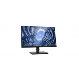 """Lenovo ThinkVision T24i-20 60,5 cm (23.8"""") 1920 x 1080 pikseliä Full HD LED Musta"""