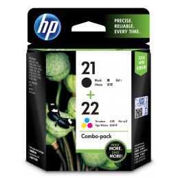 HP 21 22 mustekasetti 2 kpl Alkuperäinen Korkea (XL) värintuotto Musta, Syaani, Magenta, Keltainen
