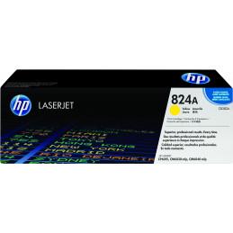 HP 824A värikasetti 1 kpl Alkuperäinen Keltainen