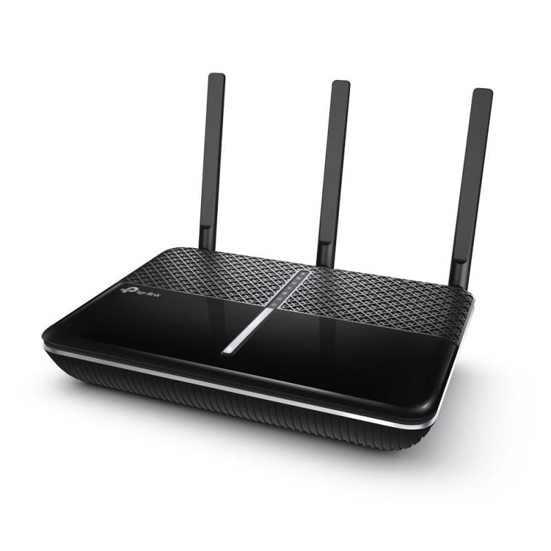 TP-LINK Archer C2300 V2 langaton reititin Gigabitti Ethernet Kaksitaajuus (2,4 GHz 5 GHz) Musta