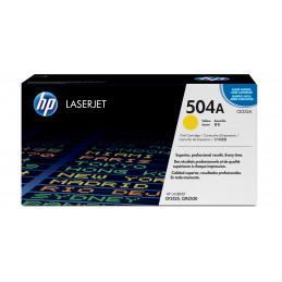 HP 504A värikasetti 1 kpl Alkuperäinen Keltainen