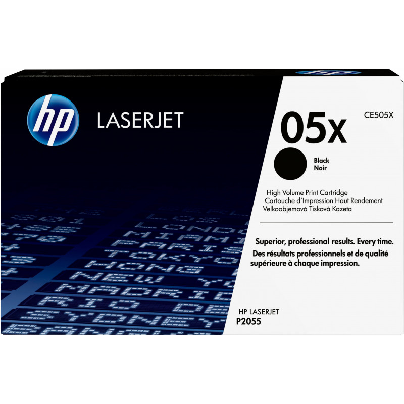 HP 05X värikasetti 1 kpl Alkuperäinen Musta