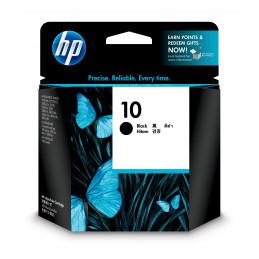 HP 10 mustekasetti 1 kpl Alkuperäinen Perusvärintuotto Musta