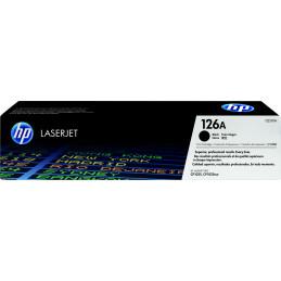 HP 126A värikasetti 1 kpl Alkuperäinen Musta