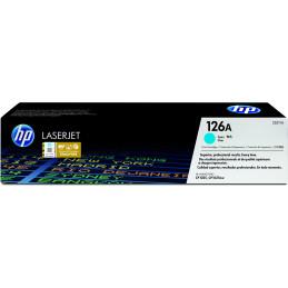 HP 126A värikasetti 1 kpl Alkuperäinen Syaani