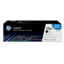 HP 125A värikasetti 2 kpl Alkuperäinen Musta