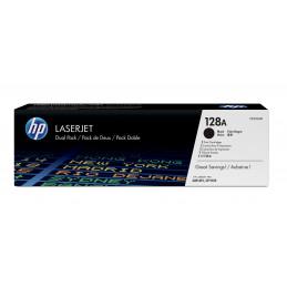 HP 128A värikasetti 2 kpl Alkuperäinen Musta