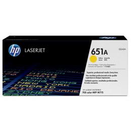 HP 651A värikasetti 1 kpl Alkuperäinen Keltainen