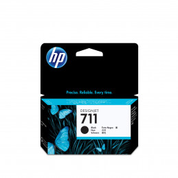 HP 711 mustekasetti 1 kpl Alkuperäinen Musta