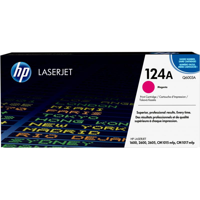 HP 124A värikasetti 1 kpl Alkuperäinen Magenta