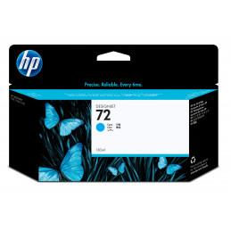 HP Cartucho de tinta ciano 72 DesignJet 130 ml mustekasetti 1 kpl Alkuperäinen Korkea (XL) värintuotto Syaani