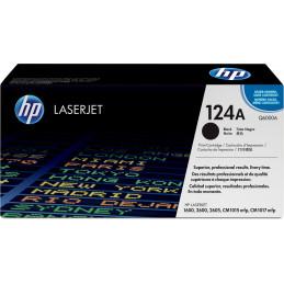 HP 124A värikasetti 1 kpl Alkuperäinen Musta