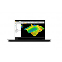 "Lenovo ThinkPad P1 DDR4-SDRAM Mobiilityöasema 39,6 cm (15.6"") 1920 x 1080 pikseliä 10. sukupolven Intel® Core™ i9 32 GB 512 GB"