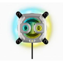 Corsair Hydro XC9 RGB Suoritin Vesiblokki Hopea 1 kpl