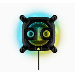 Corsair Hydro XC9 RGB Suoritin Vesiblokki Musta 1 kpl