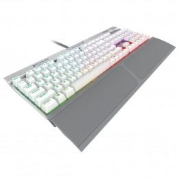 Corsair K70 RGB MK.2 SE näppäimistö USB Hopea, Valkoinen