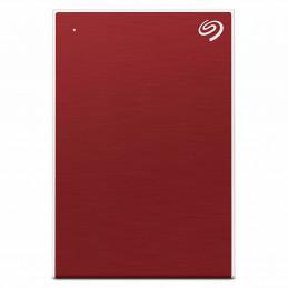 Seagate Backup Plus Portable ulkoinen kovalevy 4000 GB Punainen