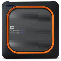 Western Digital My Passport 250 GB Wi-Fi Harmaa, Oranssi