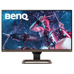 """Benq EW2780U 68,6 cm (27"""") 3840 x 2160 pikseliä 4K Ultra HD LED Musta, Ruskea"""