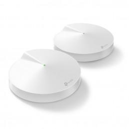 TP-LINK Deco M9 Plus (2-Pack) Kolmikaista (2,4 GHz 5 GHz 5 GHz) Wi-Fi 5 (802.11ac) Valkoinen Sisäinen