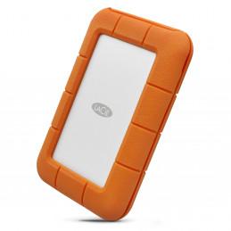 LaCie Rugged USB-C ulkoinen kovalevy 5000 GB Harmaa, Keltainen