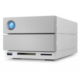 LaCie 2big Dock Thunderbolt 3 16TB levyjärjestelmä Työpöytä Hopea