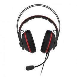 ASUS TUF Gaming H7 Kuulokkeet Pääpanta 3,5 mm liitin Musta, Punainen