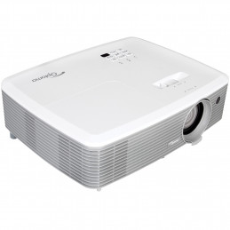 Optoma W400+ dataprojektori Standard throw projector 4000 ANSI lumenia DLP WXGA (1280x800) 3D Harmaa, Valkoinen