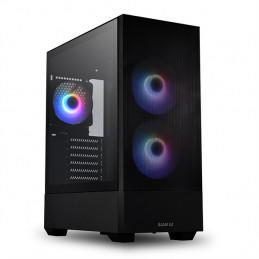 Lian Li LANCOOL 205 MESH BLACK tietokonekotelo Tower Musta