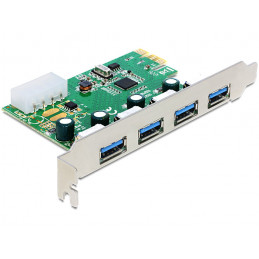 DeLOCK 89363 liitäntäkortti -sovitin Sisäinen USB 3.2 Gen 1 (3.1 Gen 1)