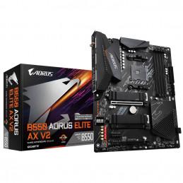 Gigabyte B550 AORUS ELITE AX V2 emolevy AMD B550 Kanta AM4 ATX