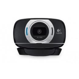 Logitech C615 verkkokamera 8 MP 1920 x 1080 pikseliä USB 2.0 Musta