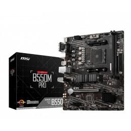 MSI B550M PRO emolevy AMD B550 Kanta AM4 mikro ATX