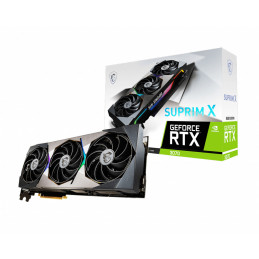 MSI RTX 3070 SUPRIM X 8G LHR näytönohjain NVIDIA GeForce RTX 3070 8 GB GDDR6