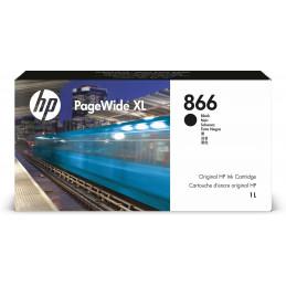 HP 866 1-liter Black PageWide XL Ink Cartridge