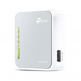 TP-LINK TL-MR3020 langaton reititin Nopea Ethernet Yksi kaista (2,4 GHz) 3G 4G Harmaa, Valkoinen