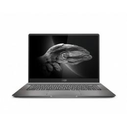 """MSI Creator Z16 A11UET-072 Kannettava tietokone 40,6 cm (16"""") Kosketusnäyttö Quad HD+ Intel Core i9-11xxx 32 GB DDR4-SDRAM 1000"""