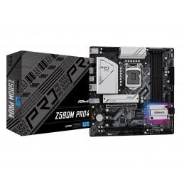Asrock Z590M Pro4 Intel Z590 LGA 1200 mikro ATX