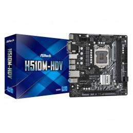 Asrock H510M-HDV Intel H510 LGA 1200 mikro ATX
