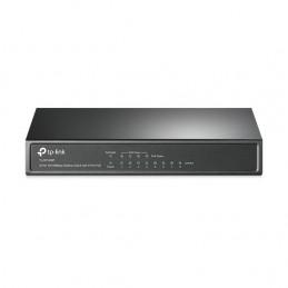 TP-LINK TL-SF1008P Hallitsematon Fast Ethernet (10 100) Power over Ethernet -tuki Musta