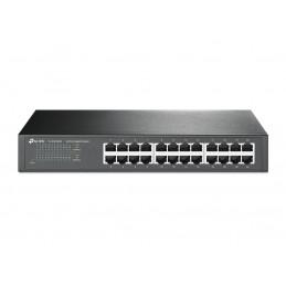TP-LINK TL-SG1024D Hallitsematon Gigabit Ethernet (10 100 1000) Harmaa
