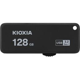 Kioxia TransMemory U365 USB-muisti 128 GB USB A-tyyppi 3.2 Gen 1 (3.1 Gen 1) Musta