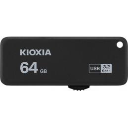 Kioxia TransMemory U365 USB-muisti 64 GB USB A-tyyppi 3.2 Gen 1 (3.1 Gen 1) Musta