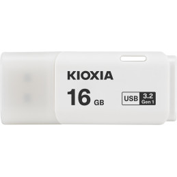 Kioxia TransMemory U301 USB-muisti 16 GB USB A-tyyppi 3.2 Gen 1 (3.1 Gen 1) Valkoinen