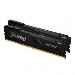 Kingston Technology FURY Beast muistimoduuli 16 GB 2 x 8 GB DDR4 3200 MHz