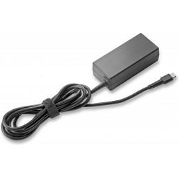 HP 45W USB-C AC Adapter virta-adapteri ja vaihtosuuntaaja Sisätila Musta