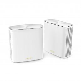 ASUS XD6 2-pack Kaksitaajuus (2,4 GHz 5 GHz) Wi-Fi 6 (802.11ax) Valkoinen 4 Sisäinen