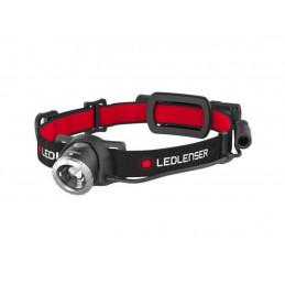 Led Lenser H8R Musta, Punainen Taskulamppu otsanauhalla