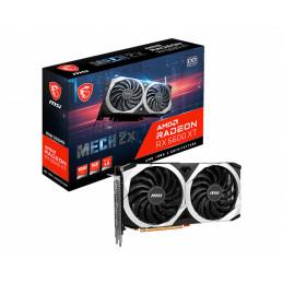 MSI RX 6600 XT MECH 2X 8G OC näytönohjain AMD Radeon RX 6600 XT 8 GB GDDR6