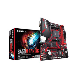 Gigabyte B450M GAMING emolevy AMD B450 Kanta AM4 mikro ATX